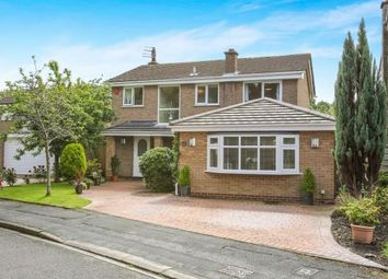 Thumbnail 4 bed detached house for sale in Willow Lane, Goostrey, Crewe, Cheshire