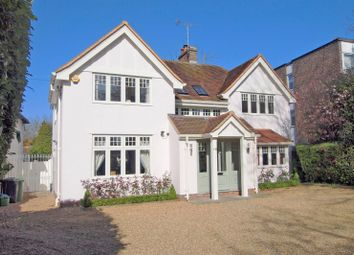 Thumbnail 4 bed detached house for sale in Chessington Road, Ewell Village