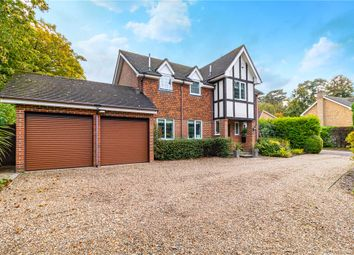 Thumbnail 5 bed detached house for sale in Gainsborough Close, Camberley, Surrey