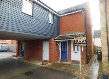 Thumbnail 2 bedroom maisonette for sale in Dotterel Way, Stowmarket