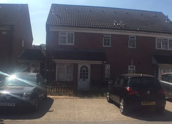 Thumbnail 1 bedroom semi-detached house to rent in Dorrington Close, Luton