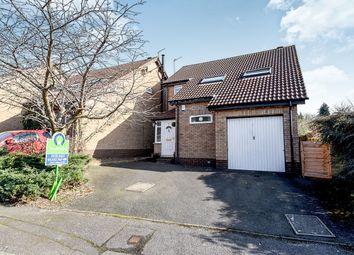 Thumbnail 3 bed detached house for sale in Swanmore Road, Littleover, Derby