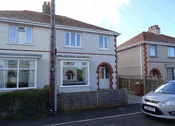 Thumbnail 3 bedroom semi-detached house for sale in 14, Cleveland Avenue, Tywyn, Gwynedd