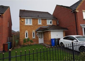 Thumbnail 3 bed detached house for sale in Oakcliffe Road, Manchester