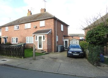 Thumbnail 3 bed semi-detached house for sale in Saxon Road, Saxmundham, Suffolk, England