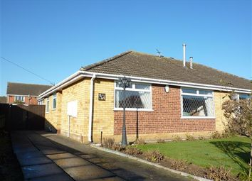 Thumbnail 2 bed semi-detached bungalow for sale in Oakwood Drive, Wybers Wood, Grimsby