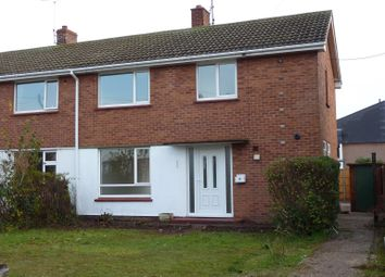 Thumbnail 3 bed semi-detached house to rent in Maplebeck Avenue, Meden Vale, Mansfield