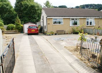 Thumbnail 2 bed semi-detached bungalow for sale in Hainworth Wood Road North, Keighley, West Yorkshire