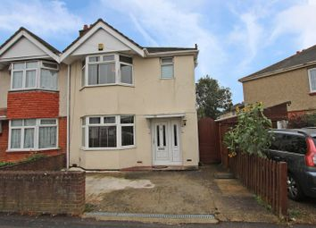 Thumbnail 3 bed semi-detached house for sale in Warren Avenue, Shirley, Southampton