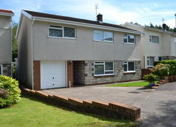 Thumbnail 5 bed detached house for sale in Clos Cilfwnwr, Penllergaer, Swansea