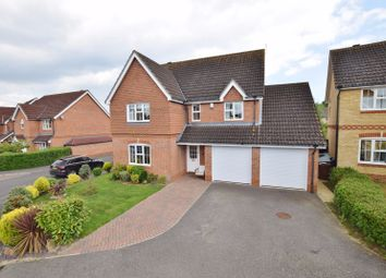 Thumbnail 6 bed detached house for sale in Kestrel Close, Kingsnorth, Ashford