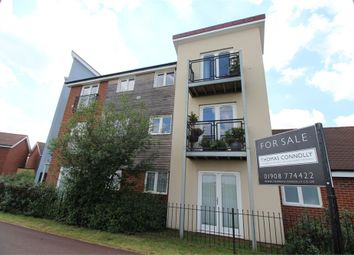 Thumbnail 2 bedroom flat for sale in Newport Road, Broughton, Milton Keynes, Buckinghamshire
