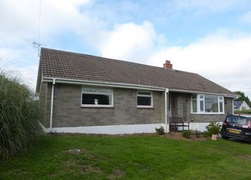 Thumbnail 4 bed detached bungalow to rent in Leonardston Road, Llanstadwell, Milford Haven