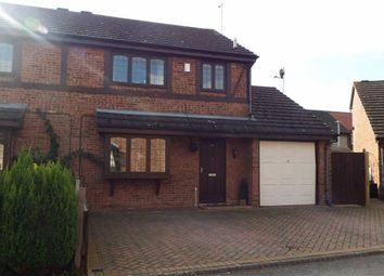 Thumbnail 3 bed semi-detached house to rent in King Charles Close, Willerby