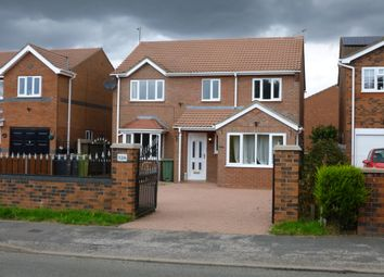 Thumbnail 4 bed detached house to rent in North Kelsey Road, Caistor, Market Rasen
