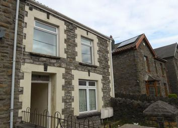 Thumbnail 1 bed flat to rent in Park Road, Treorchy