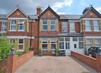Thumbnail 4 bed terraced house for sale in Superb Period House, Preston Avenue, Newport
