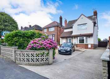 Thumbnail 3 bed detached house for sale in Chesterfield Road, Tibshelf, Alfreton, Derbyshire