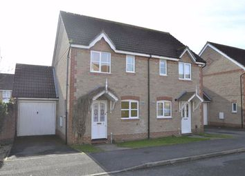 Thumbnail 2 bed semi-detached house for sale in Harebell Drive, Thatcham, Berkshire