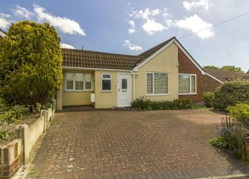 Thumbnail 4 bed detached bungalow for sale in Downs Road, Folkestone