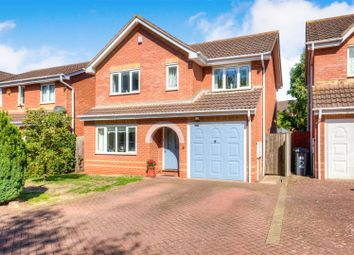Thumbnail 4 bed detached house for sale in Orsino Close, Heathcote, Warwick