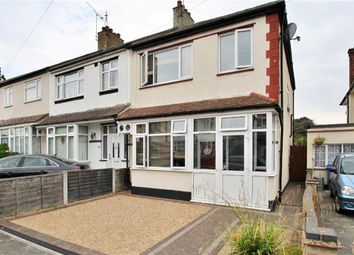 Thumbnail 3 bed end terrace house for sale in Kingswood Chase, Leigh-On-Sea, Essex