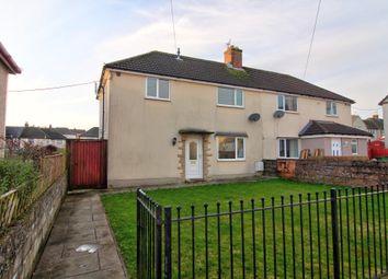 Thumbnail 3 bed semi-detached house for sale in Llwyncrwn Road, Beddau, Pontypridd
