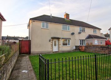 Thumbnail 3 bedroom semi-detached house for sale in Llwyncrwn Road, Beddau, Pontypridd