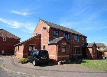 Thumbnail 3 bed semi-detached house for sale in El Alamein Way, Bradwell, Great Yarmouth