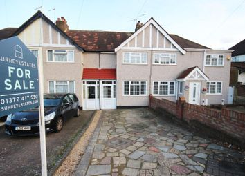 Thumbnail 2 bed terraced house for sale in Gilders Road, Chessington