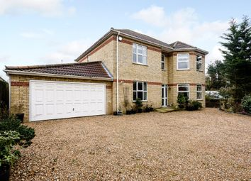Thumbnail 5 bed detached house for sale in Station Road, Attleborough
