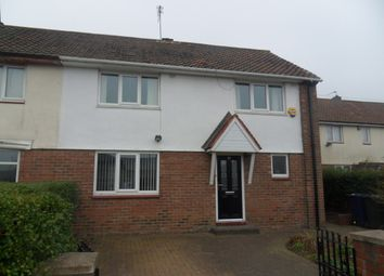 Thumbnail 3 bed semi-detached house for sale in Anfield Road, Kenton, Newcastle Upon Tyne