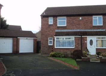 Thumbnail 3 bed semi-detached house to rent in Castlebay Court, Darlington