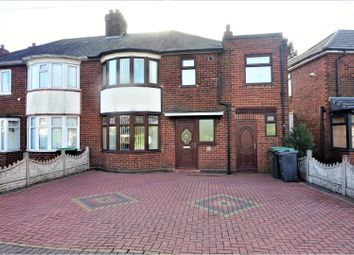Thumbnail 3 bed semi-detached house for sale in Oak Road, West Bromwich