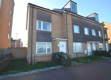 Thumbnail 2 bedroom end terrace house for sale in Newport Road, Broughton, Milton Keynes