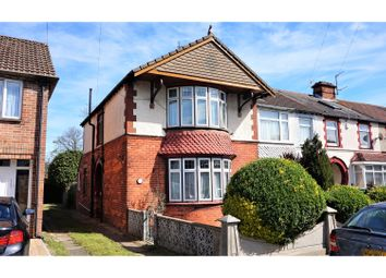 Thumbnail 3 bedroom end terrace house for sale in Hawthorn Crescent, Portsmouth
