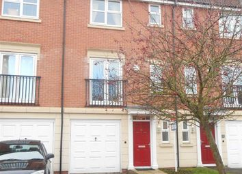 Thumbnail 3 bed terraced house to rent in Knights Road, Chellaston, Derby