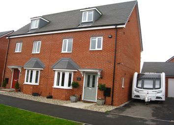 Thumbnail 4 bedroom semi-detached house for sale in Astoria Drive, Bannerbrook Park, Coventry