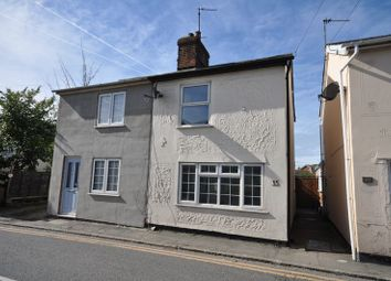 Thumbnail 2 bed semi-detached house to rent in Mill Road, West Mersea, Colchester