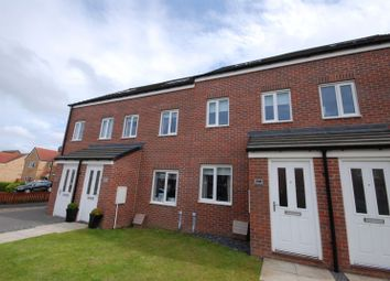Thumbnail 3 bed town house for sale in Harrington Way, Ashington