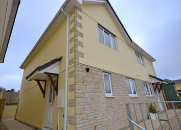 Thumbnail 3 bed semi-detached house to rent in Petroc Court, St. Anns Chapel, Gunnislake, Cornwall