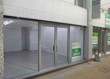 Thumbnail Retail premises to let in Unit 12 Church Arcade, Bedford