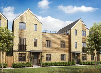 "Thumbnail 3 bedroom town house for sale in ""The Colne"" at Cowdray Avenue, Colchester"