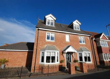 Thumbnail 6 bed detached house for sale in Craster Walk, Ashington