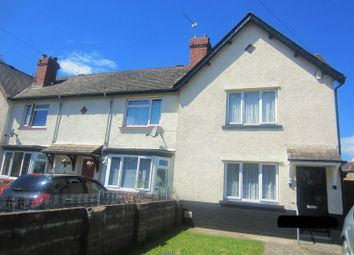 Thumbnail 2 bed end terrace house to rent in Snowden Road, Cardiff