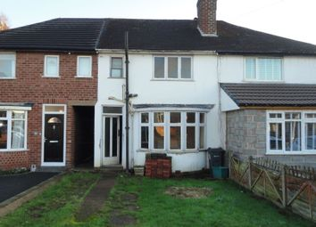 Thumbnail 3 bed terraced house for sale in 20 Clarendon Road, Four Oaks, Sutton Coldfield, West Midlands