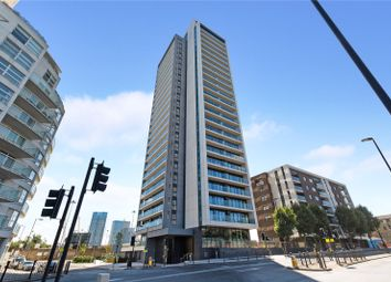 Thumbnail 1 bedroom property for sale in Horizons Tower, Yabsley Street, London