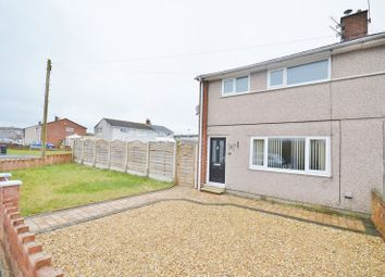 Thumbnail 3 bed semi-detached house for sale in Scawfell Avenue, Workington