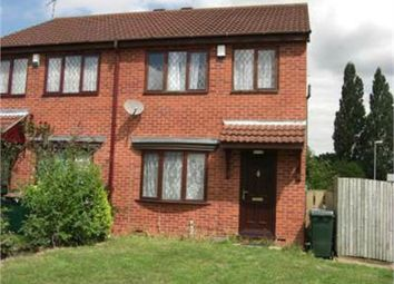 Thumbnail 3 bed end terrace house to rent in Mayors Croft, Coventry, West Midlands