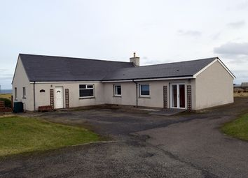 Thumbnail 4 bed detached bungalow for sale in Huna, Caithness